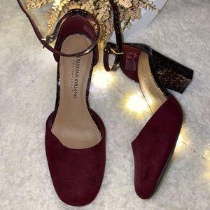 Christian Siriano chunky heels 👠